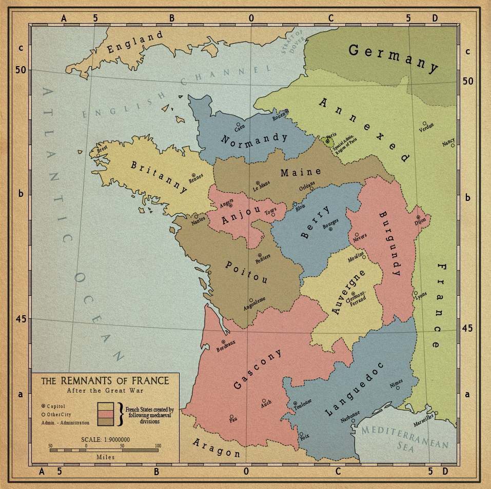 essay france map