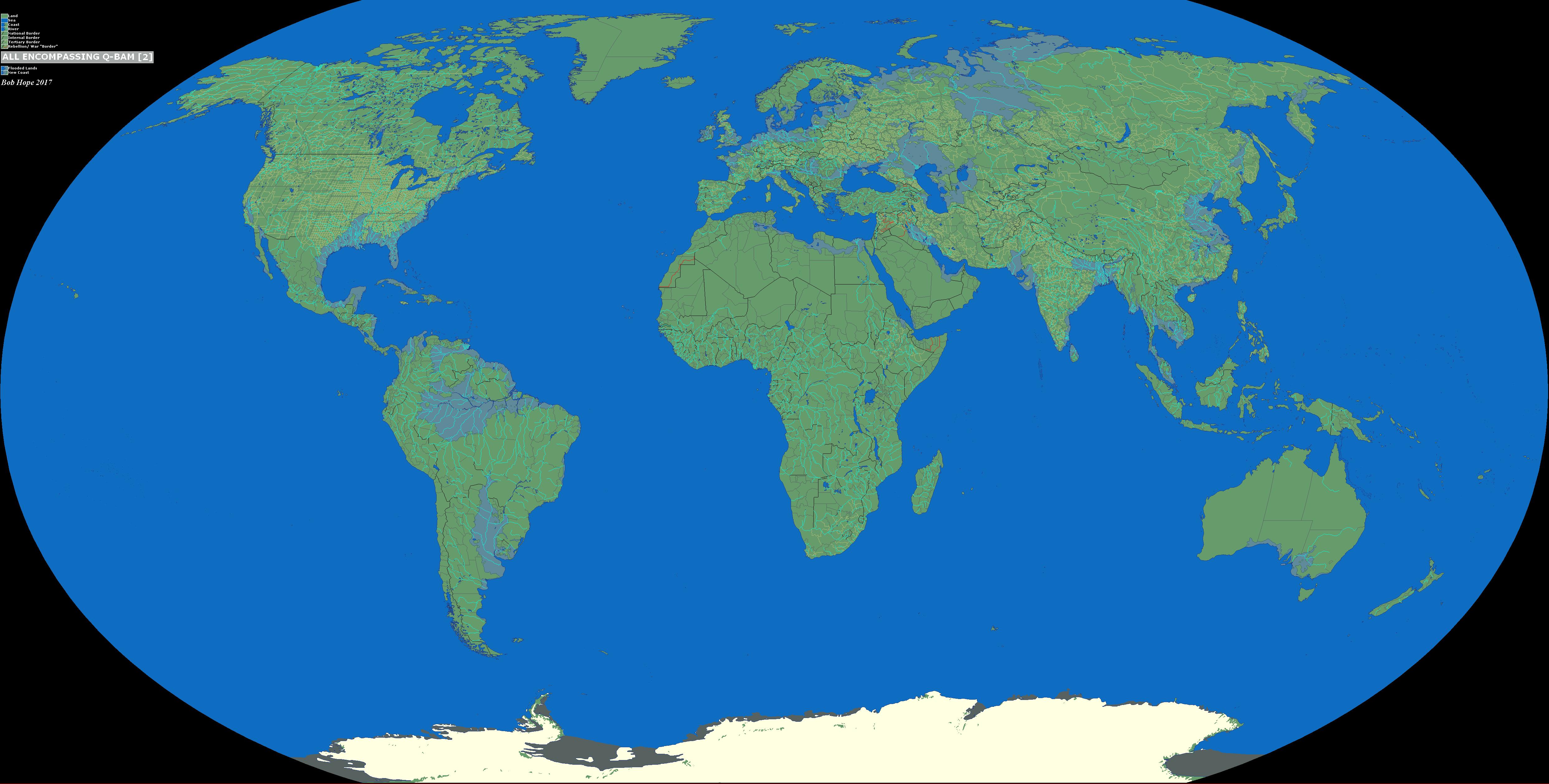 Picture of: Blank World Basemaps For Q Bam Edited By Bob Hope Alternatehistory Com