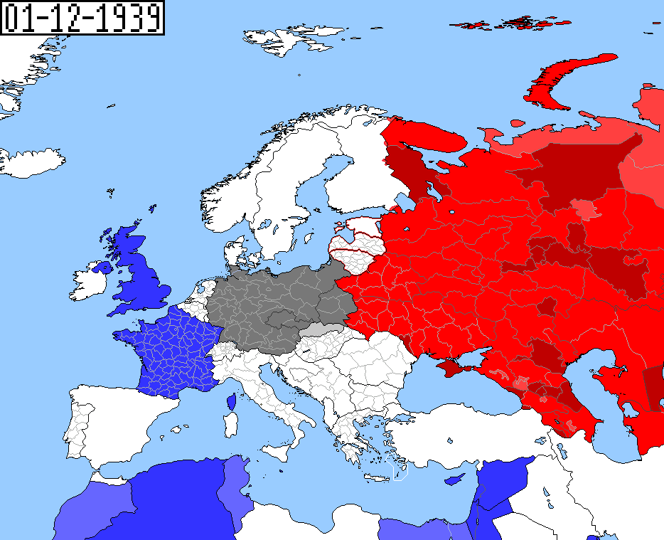 WWII Maps - Day by Day | Alternate History Discussion