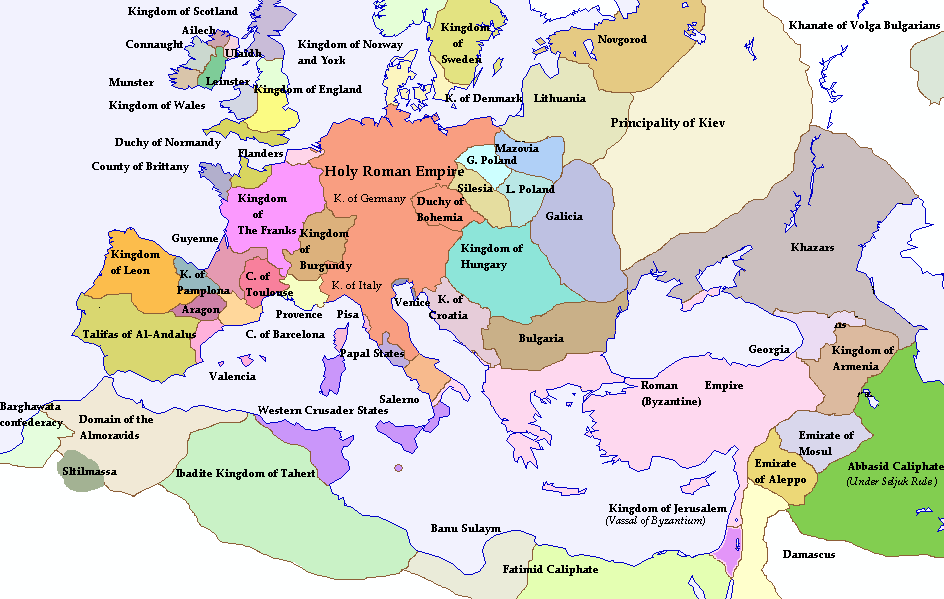 Map Of Europe 1100 Ad.Map Of Europe 1100 Ad Papegaaienparadijs