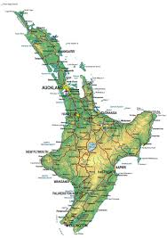 north island new zealand | large zoom in map of nz | Road trip new ...