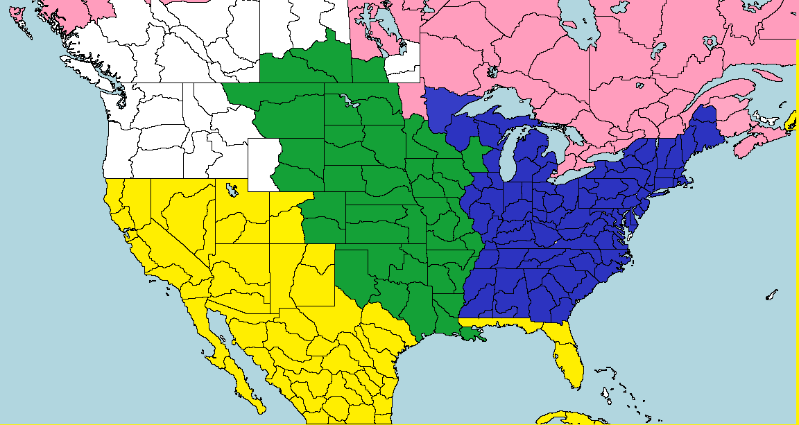1802 North American Map Game | Alternate History Discussion