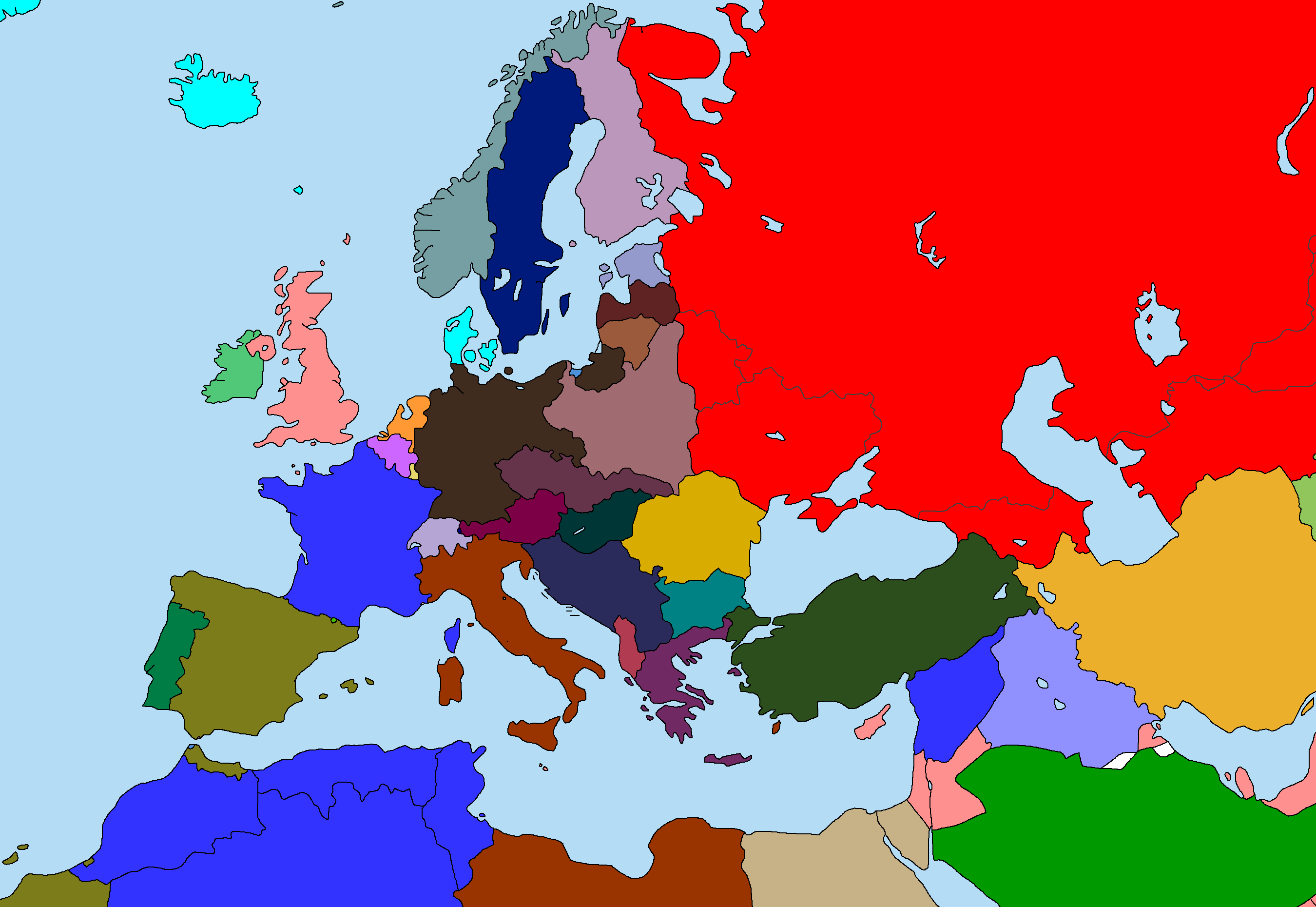 zesamofdepast\'s Europe map series | Alternate History Discussion