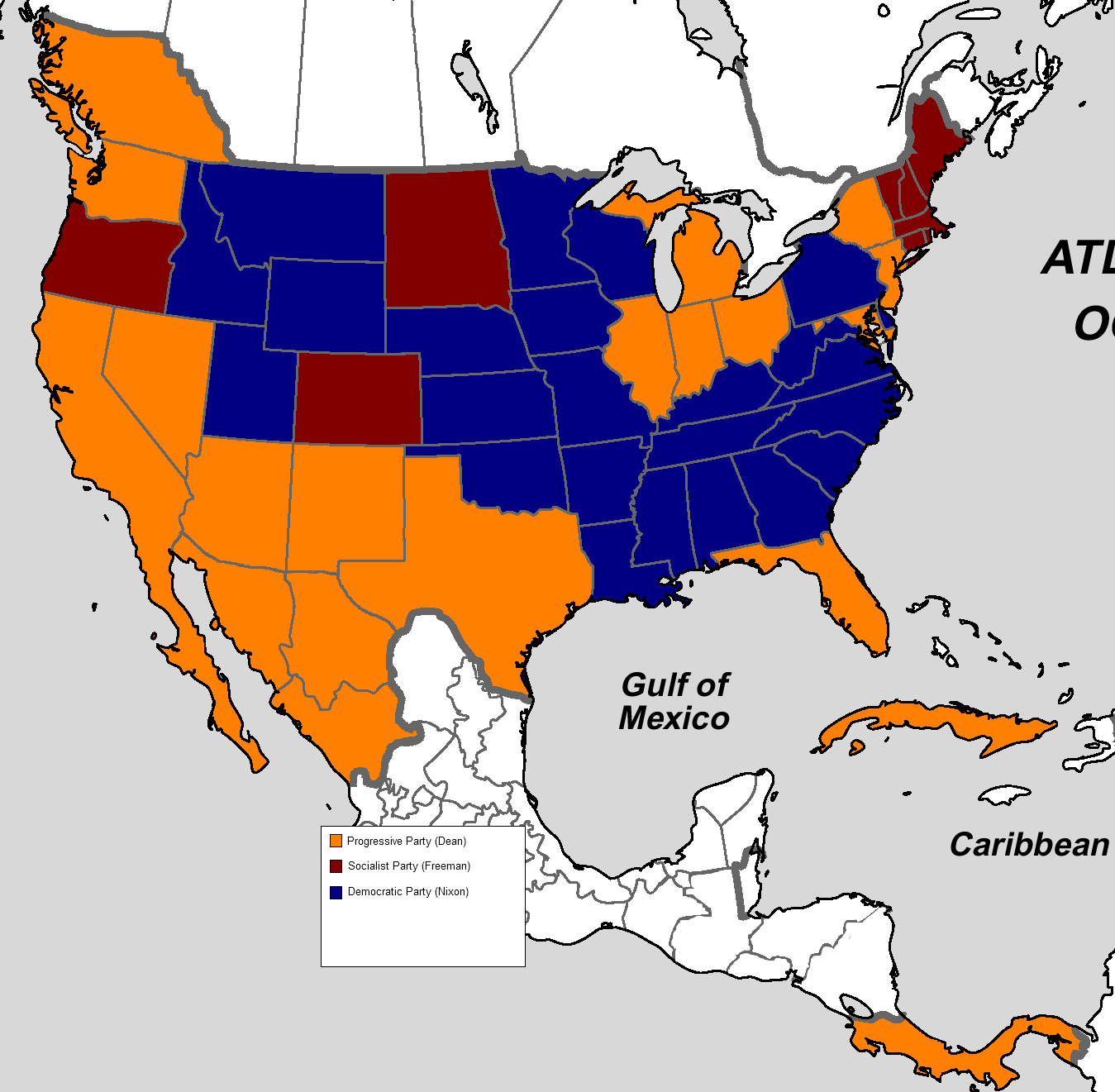 Us Election Results State Map. Us Election Results State Map With Us ...