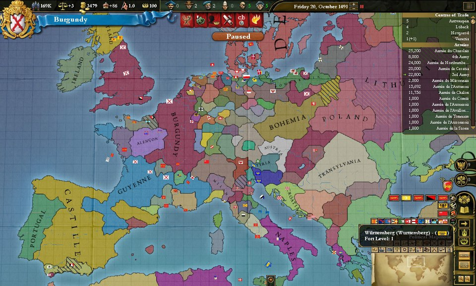 Europa Universalis Timelines | Alternate History Discussion