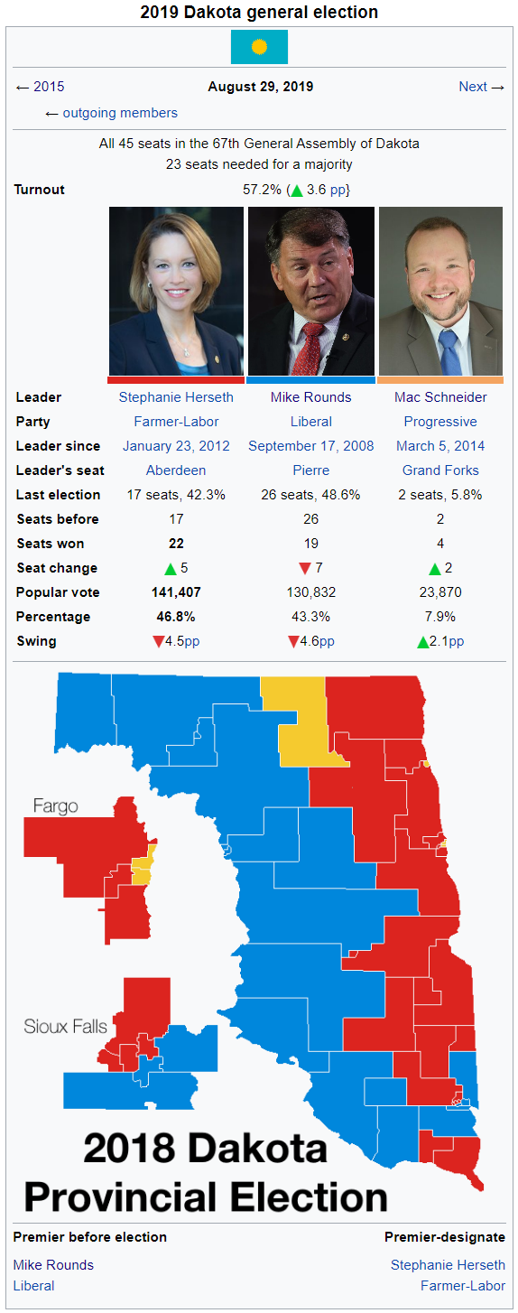 2019 Dakota Provincial Election Wiki.png
