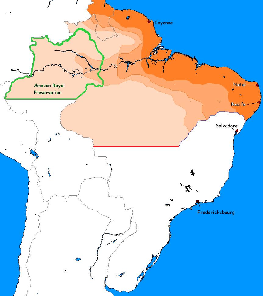 Dutch Brazil How would a Dutch Brazil look like in the present day Alternate