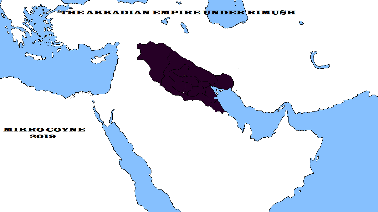 akadian empire under rimush.png