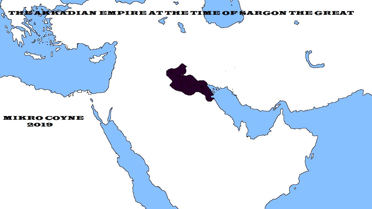 akadian empire under sargon.png