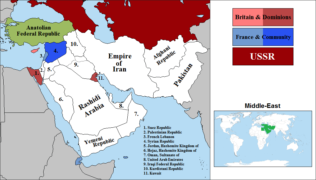 Mof 9 Alternate Partition Of The Ottoman Empire Alternate History