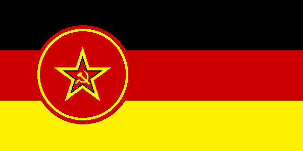 communist germany flag