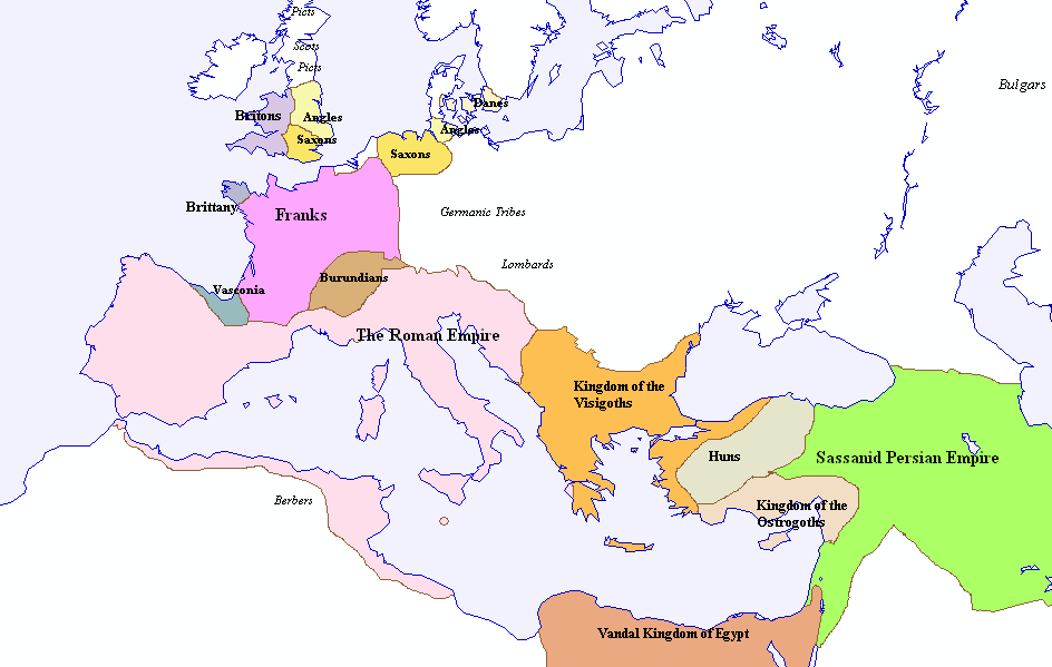 Huns Map