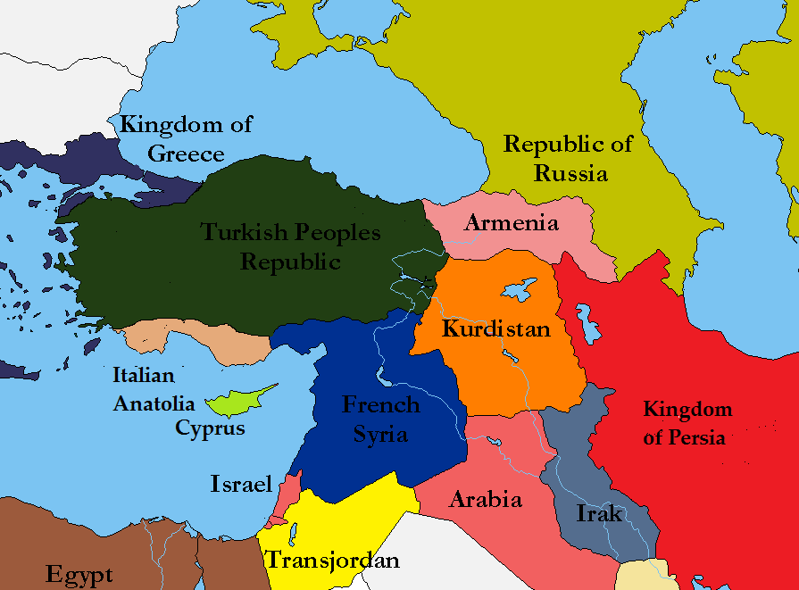 An Alternate Middle East Challenge Alternate History Discussion