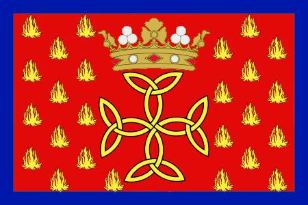 Andorran Oriflamme Flag.png