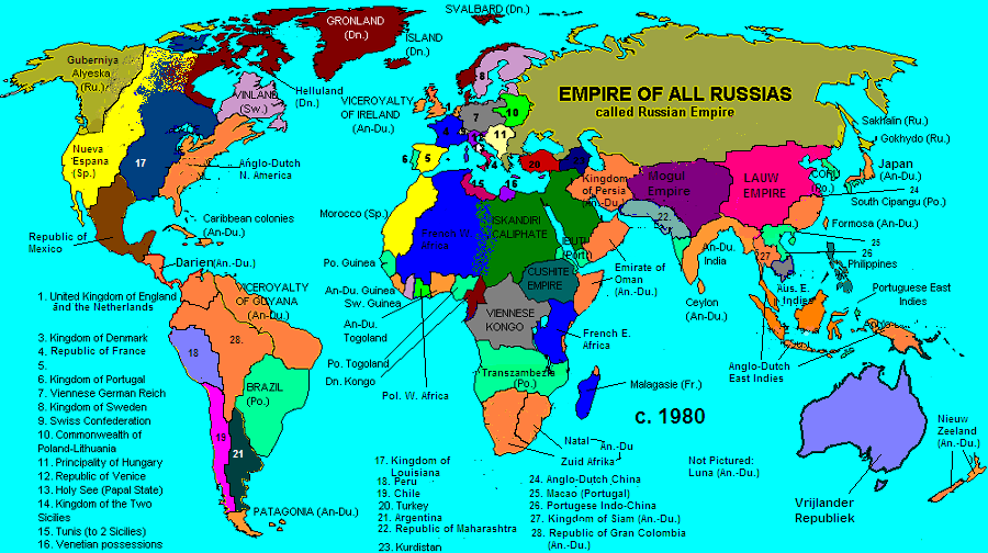 The AngloDutch Empire Alternate History Discussion