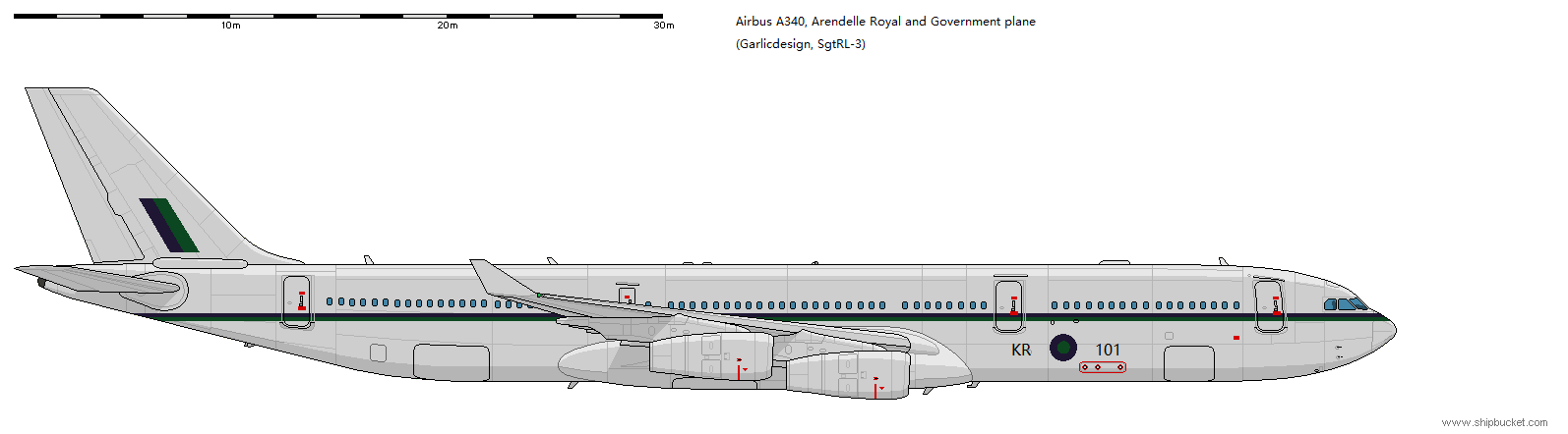 Arendelle Royal and Government plane-A340.png