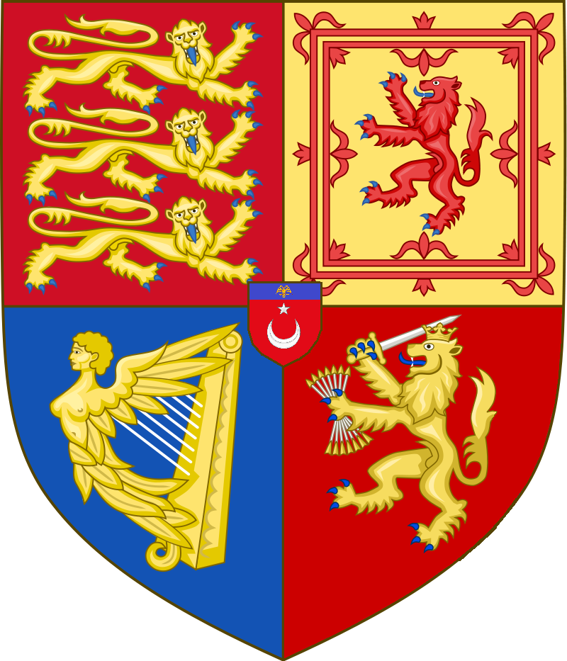 Arms of the United Kingdom of Great Britain, Ireland and the Netherlands (1848-Present).png
