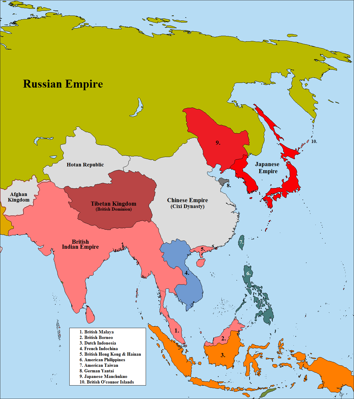 Map Thread VI Page Alternate History Discussion - Cixi map
