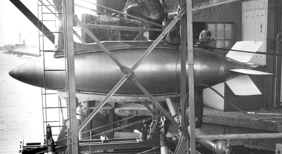 Barnes Wallis Heyday Rocket Torpedo (Laminar flow hull form) 2.jpg