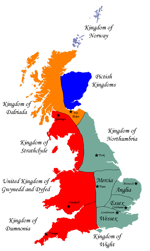 Map Of England Northumbria.Map Challenge Britain Alternate History Discussion