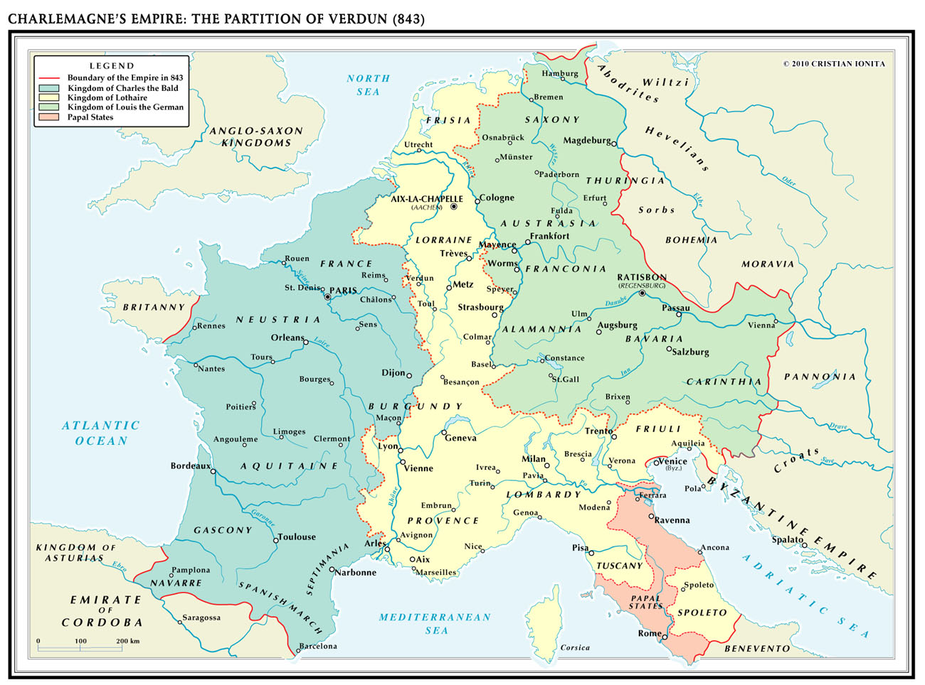 Treaty of Verdun | Alternate History Discussion on