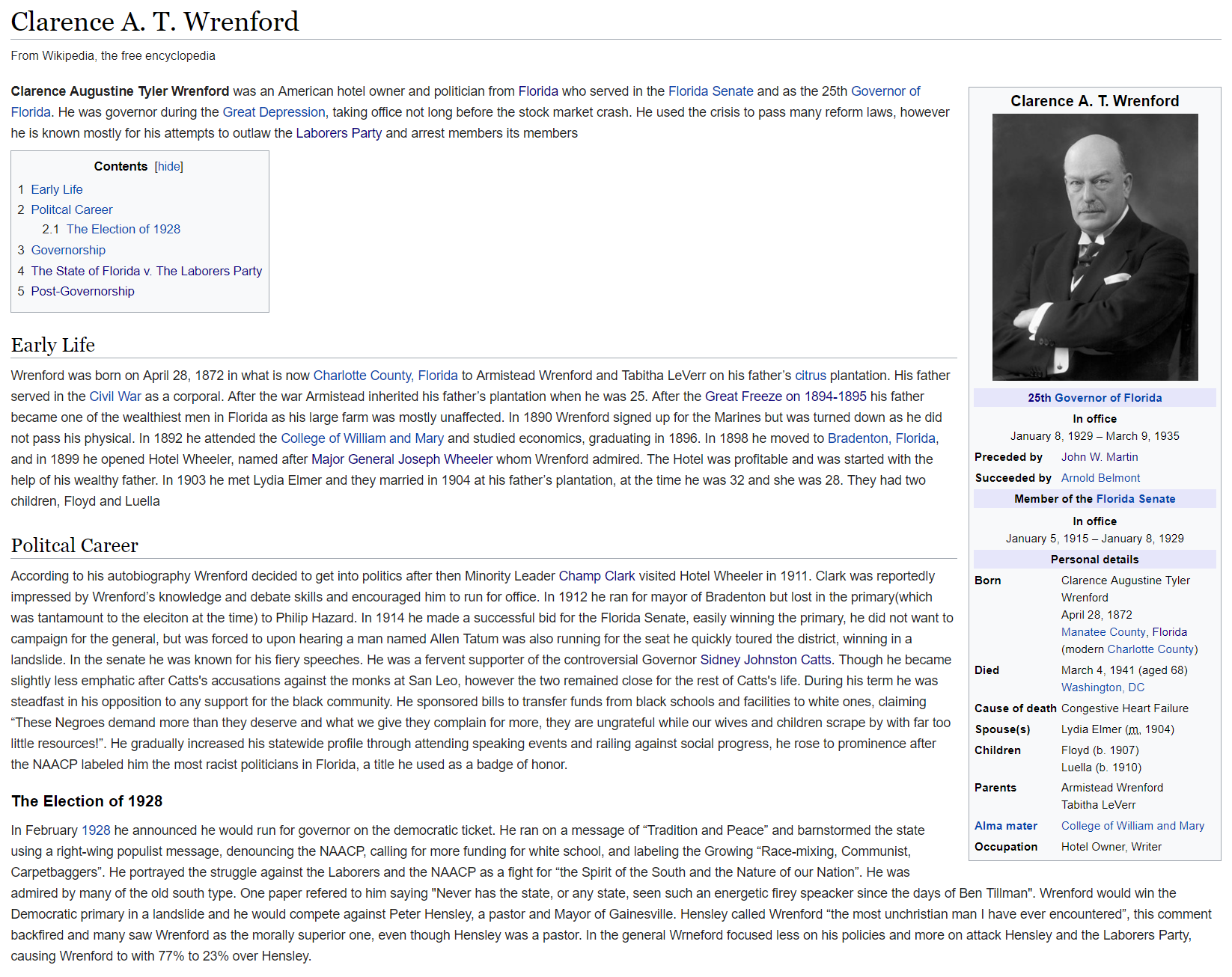 Clarence A T Wrenford Wiki 1.PNG