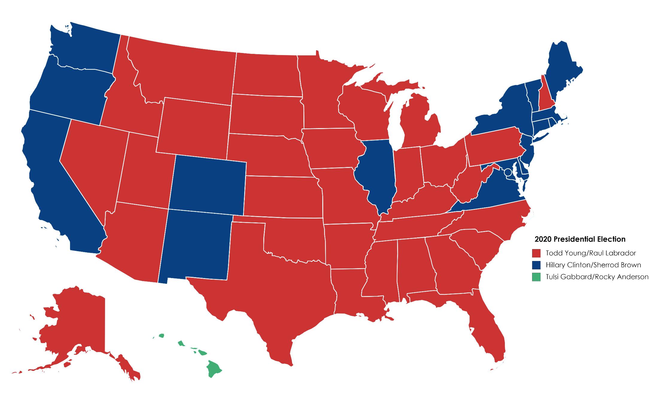 Clinton re-election bid map.png