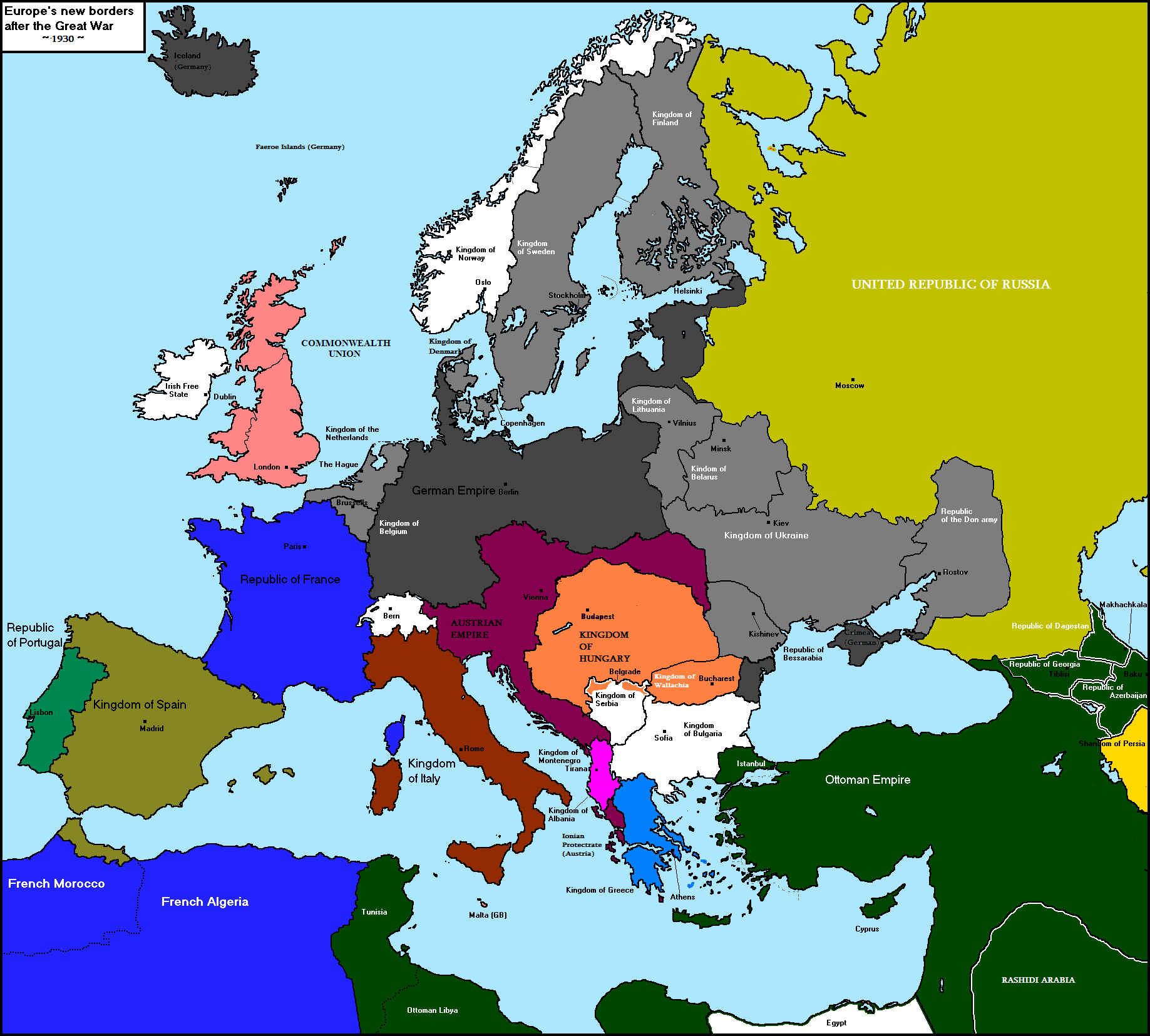 Alternate ww1 map thread alternate history discussion cp victory 1930g gumiabroncs Images