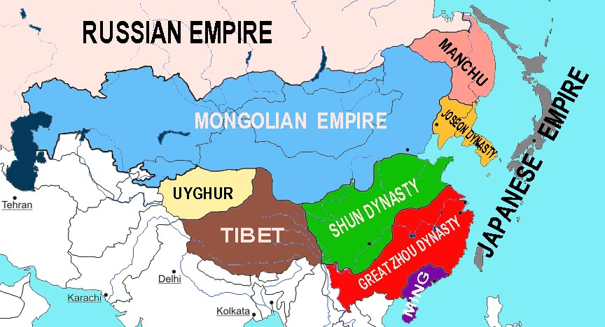 Dynamic east asia alternate history discussion east asia mapg gumiabroncs Choice Image