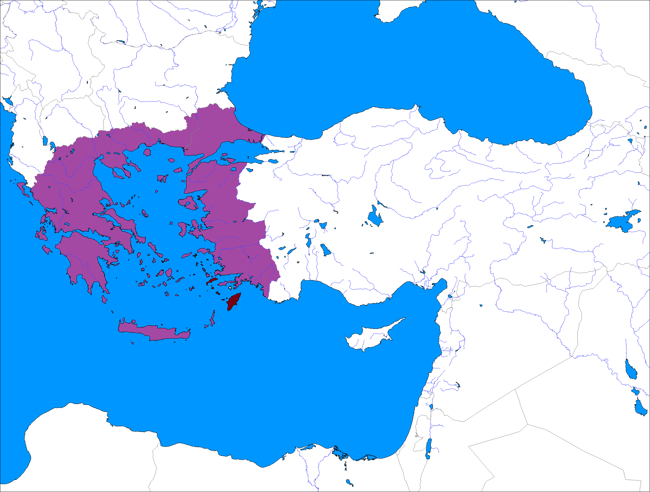 PC Turkey Loses Its War Of Independence Treaty Of Sevres Upheld - Greece in the treaty of sevres