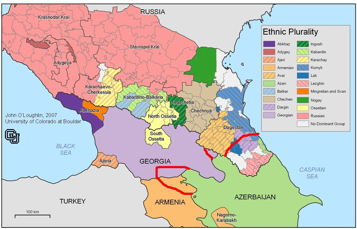 Greater Azerbaijan map Alternate History Discussion