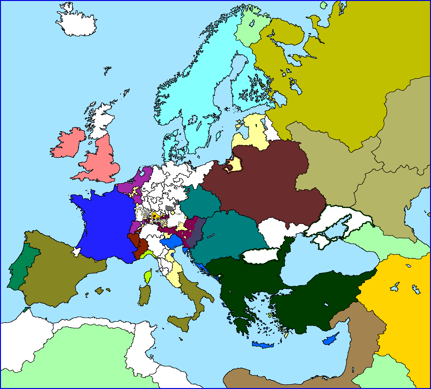 Picture of: A Blank Map Thread Page 97 Alternatehistory Com