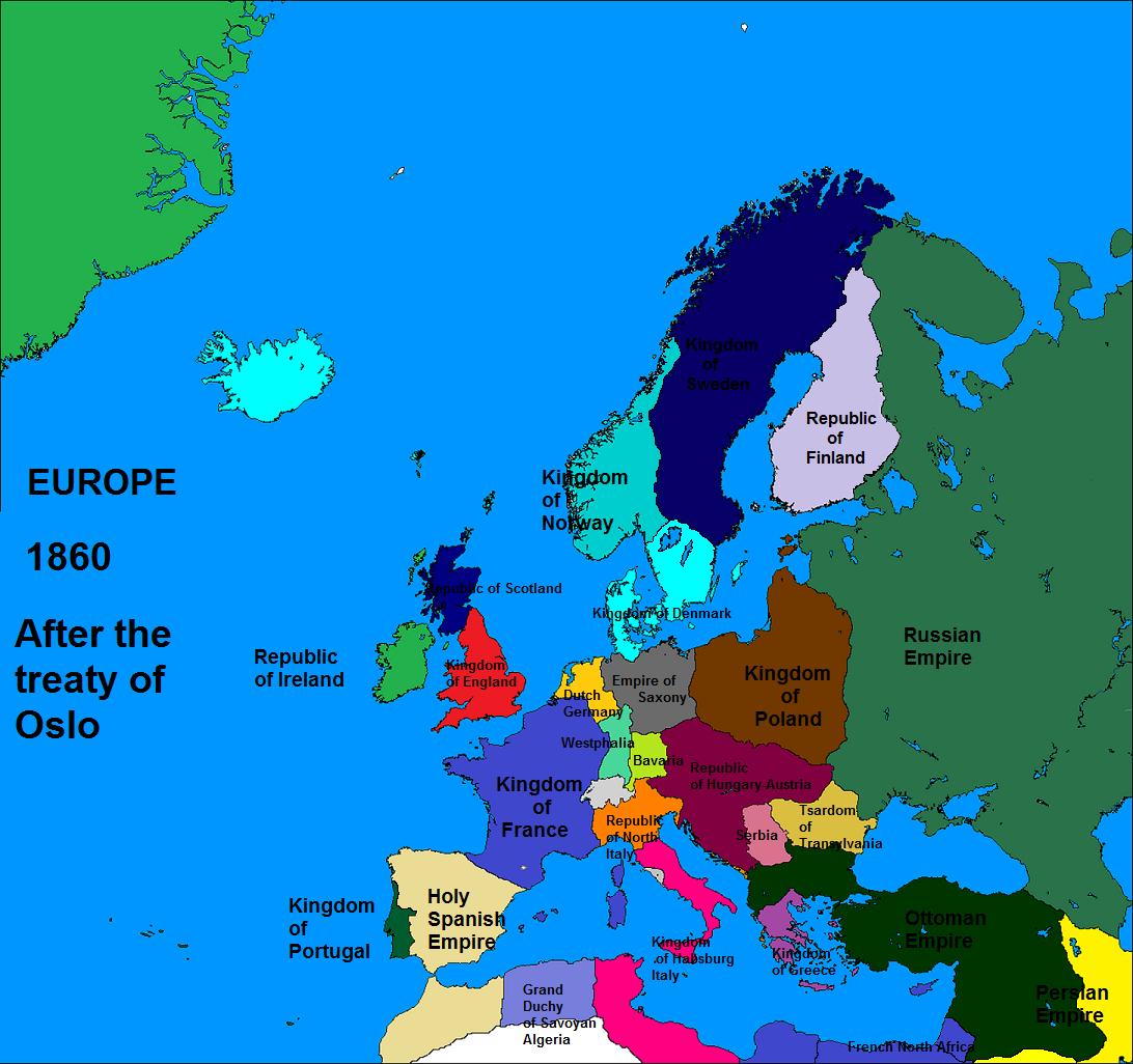 Europa 1860