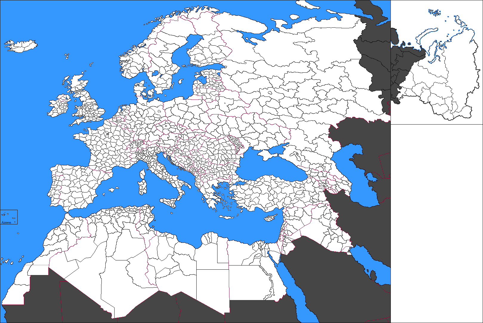 Map Of Europe With Provinces.A Blank Map Thread Page 176 Alternate History Discussion