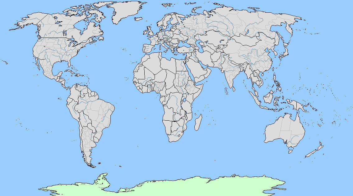 A Blank Map Thread Page Alternate History Discussion - World map uncolored