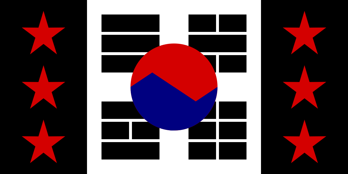fascist korea flag.png