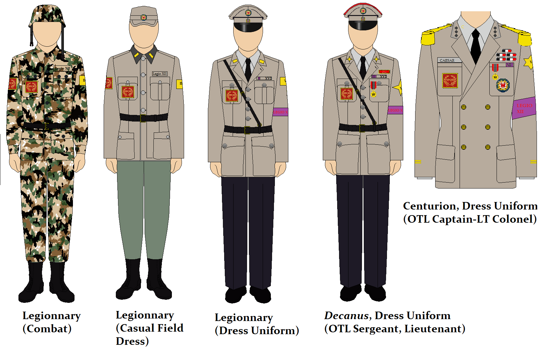 Rank Insignia and Uniforms Thread | Page 40 | Alternate ...