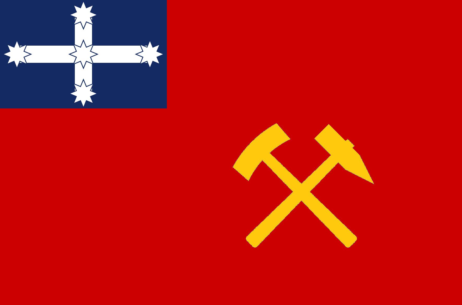 Flag of Democratic Republic of Australia (1940-1986).png