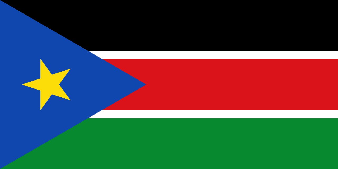Flag of Republic of South Sudan (1977-2019) and South Sudanese Government in Exile.png