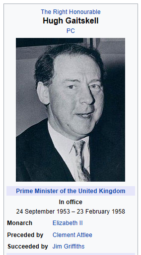 Gaitskell wikibox Labour 1950.png