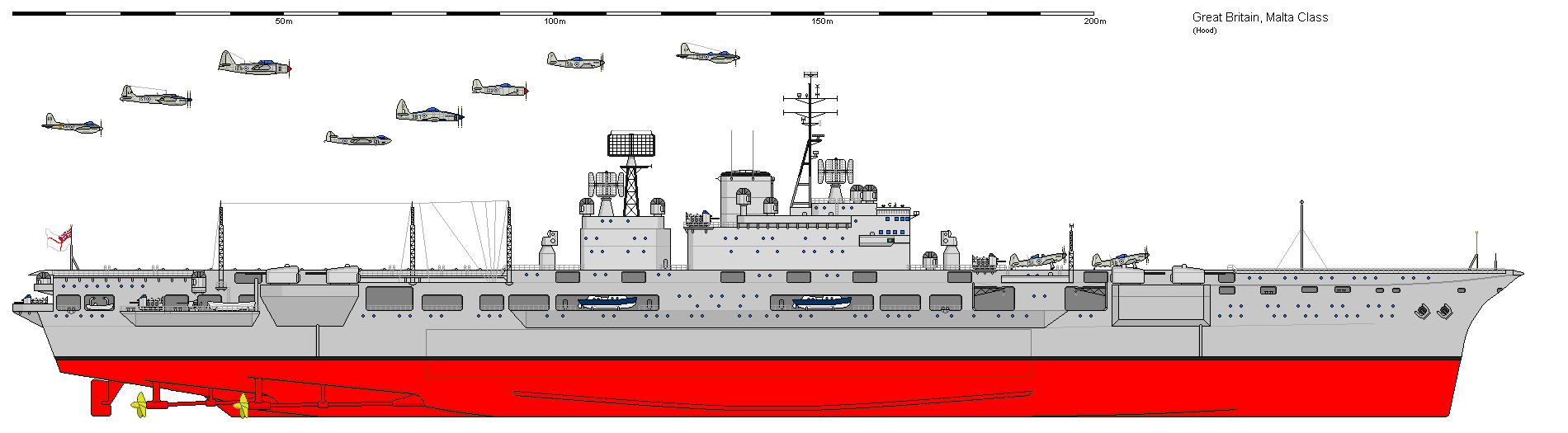 wi malta class aircraft carrier