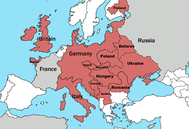 Map Thread VIII Page Alternate History Discussion - Germany map ww2