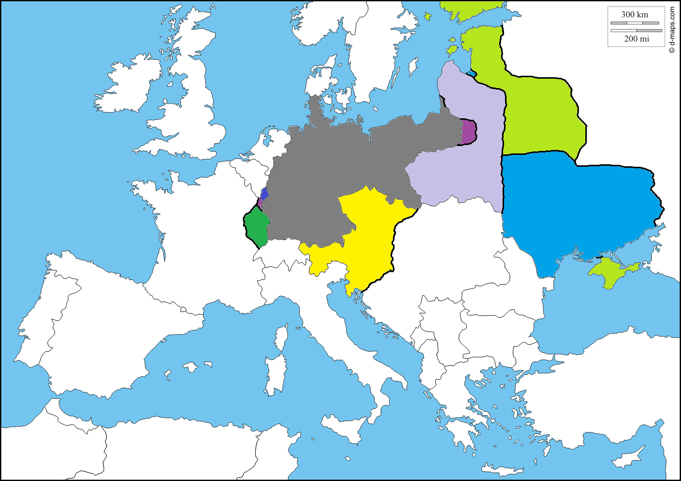 Optimal germany post world war i borders survey central powers basically my first priority would be to outright annex both iron ore rich briey and longwy and the strategic suwalki gubernia both in dark purple gumiabroncs Gallery