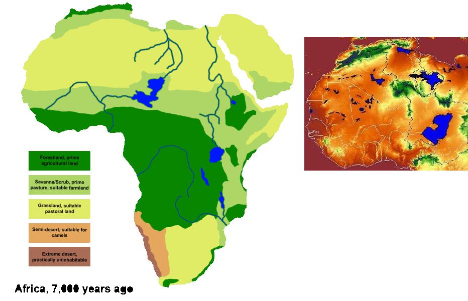 WI Sahara Remains Lush Greens Alternate History Discussion - Sahara desert location