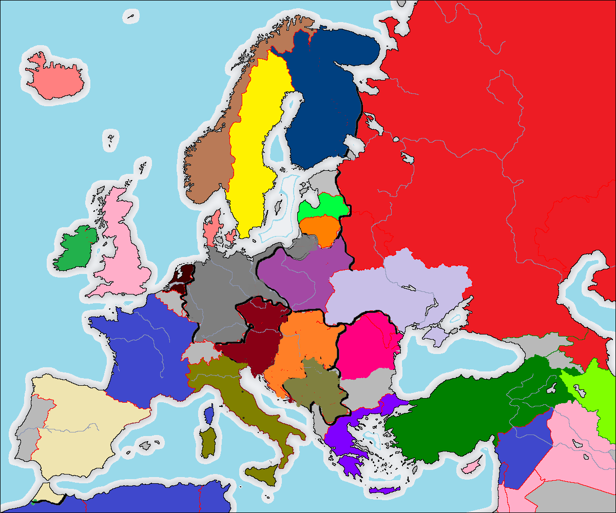 Europe Post 1918 | Alternate History Discussion
