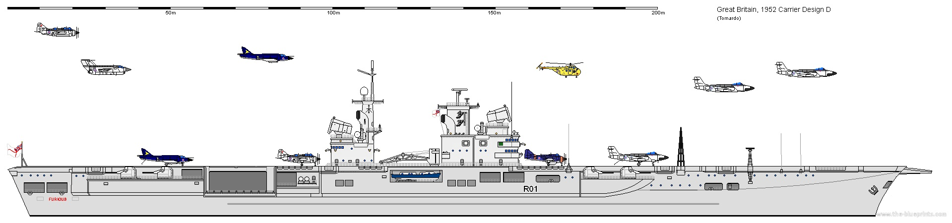 Ahc Wi Royal Navy Receives The Cva 01 And Type 82
