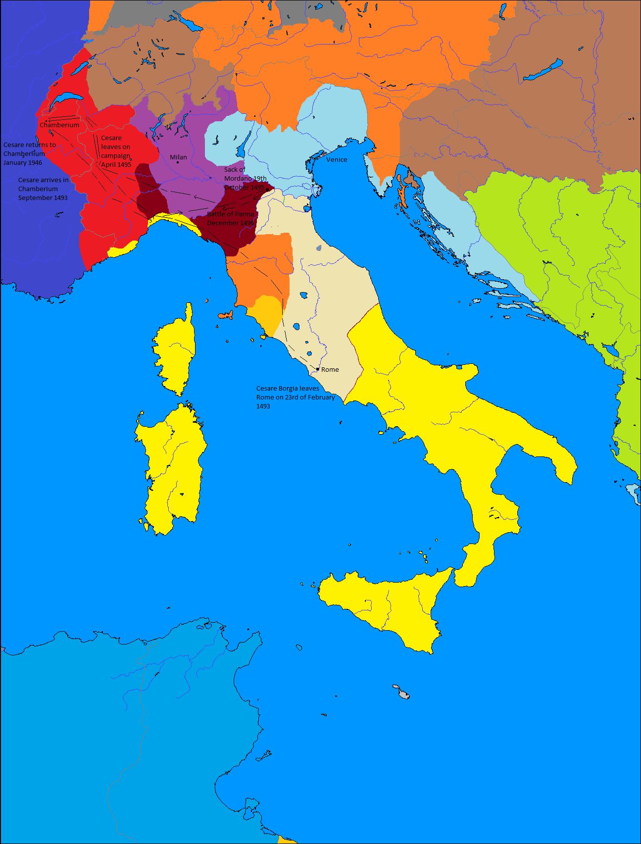 Cesare Borgia A Restored Rome Timeline Page 2