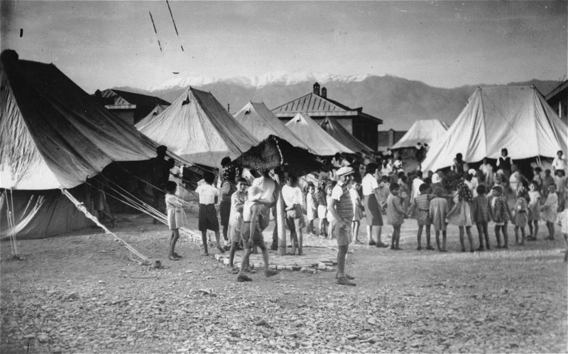Jewish refugee camp in Libya.png