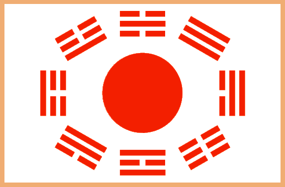 The Flag of the Union of Dankuk(단연방국)(Unión de Dankuk) (Undeb Dankuk)