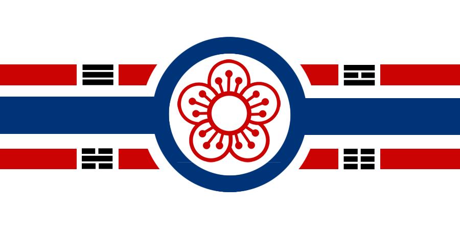 The Flag of the Grand Imperial Union of Dankuk (단국 대제국)